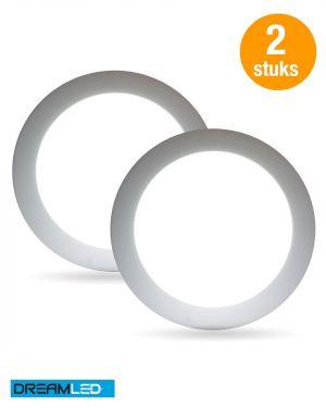 Led-plafondlamp (2 stuks)