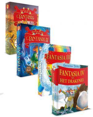 Pakket Fantasia I - IV, Geronimo stilton