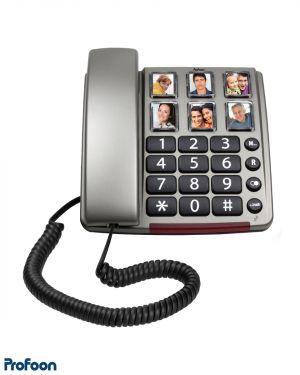 Telefoon met grote fototoetsen