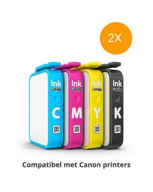 Inktpatronen compatibel met Canon printers