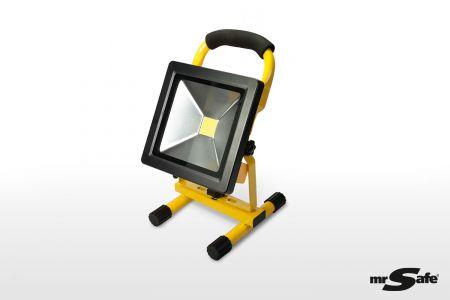 Draagbare en oplaadbare werklamp 20 W