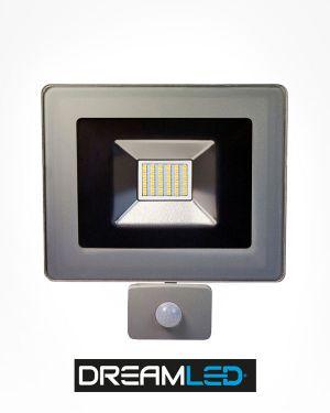 Led-buitenlamp met sensor