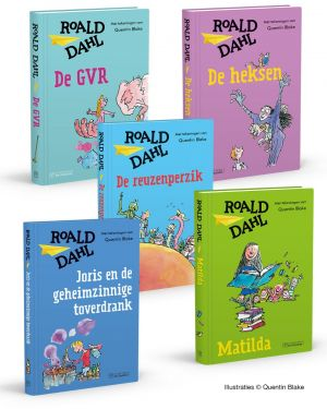 Roald Dahl boekenpakket