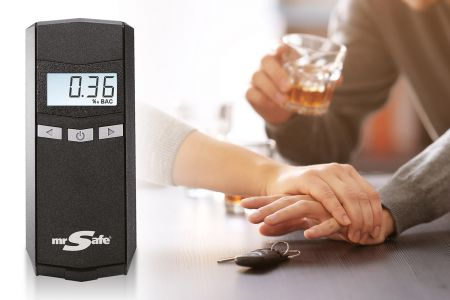 Digitale alcoholtester