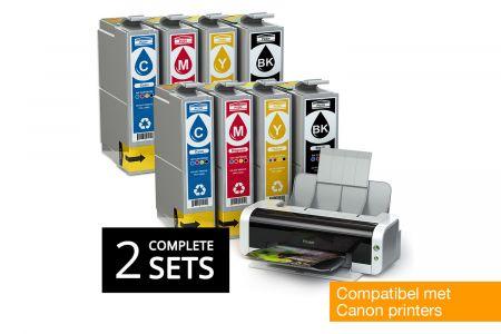 Inktpatronen compatibel met Canon