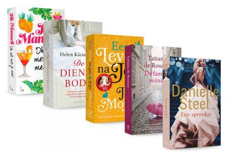 Pakket van 5 zomerromans