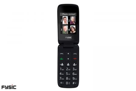 Klaptelefoon met SOS-noodknop voor senioren