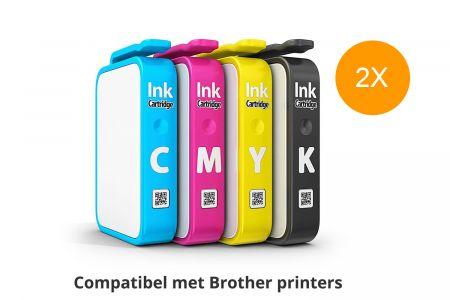 Inktpatronen compatibel met Brother printers