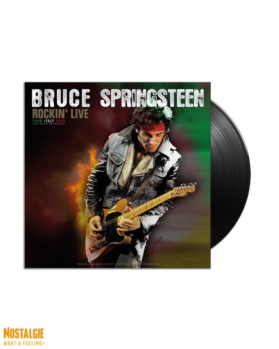 Lp vinyl Bruce Springsteen - Best rockin' live in Italy