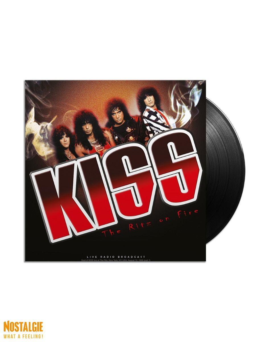 Lp vinyl Kiss - Best of Ritz on Fire 1988 Live Radio Broadcast